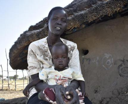 INTEGRATED NUTRITION AND HEALTH INTERVENTION SAVES CHILDREN UNDER FIVE AMIDST HUNGER THREAT IN SOUTH SUDAN.