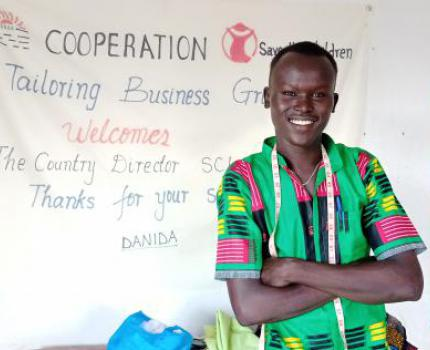 LIVELIHOOD PROGRAMS HELP YOUTH OVERCOME POVERTY AND CONFLICT IN SOUTH SUDAN