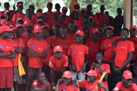 Trainees at Save the Children TVET centre in Rumbek/Tito Justin/Save the Children